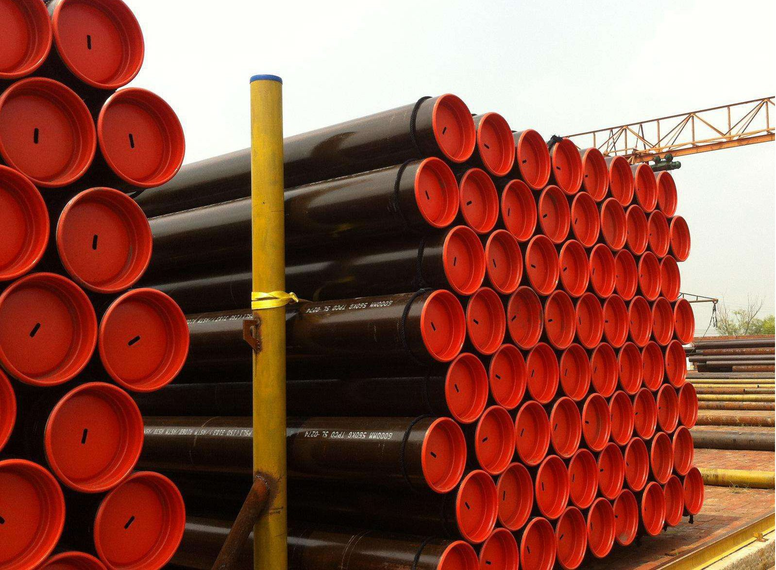 One of Hottest for API 5L SMLS line pipe X42-X70 to Sacramento Factory