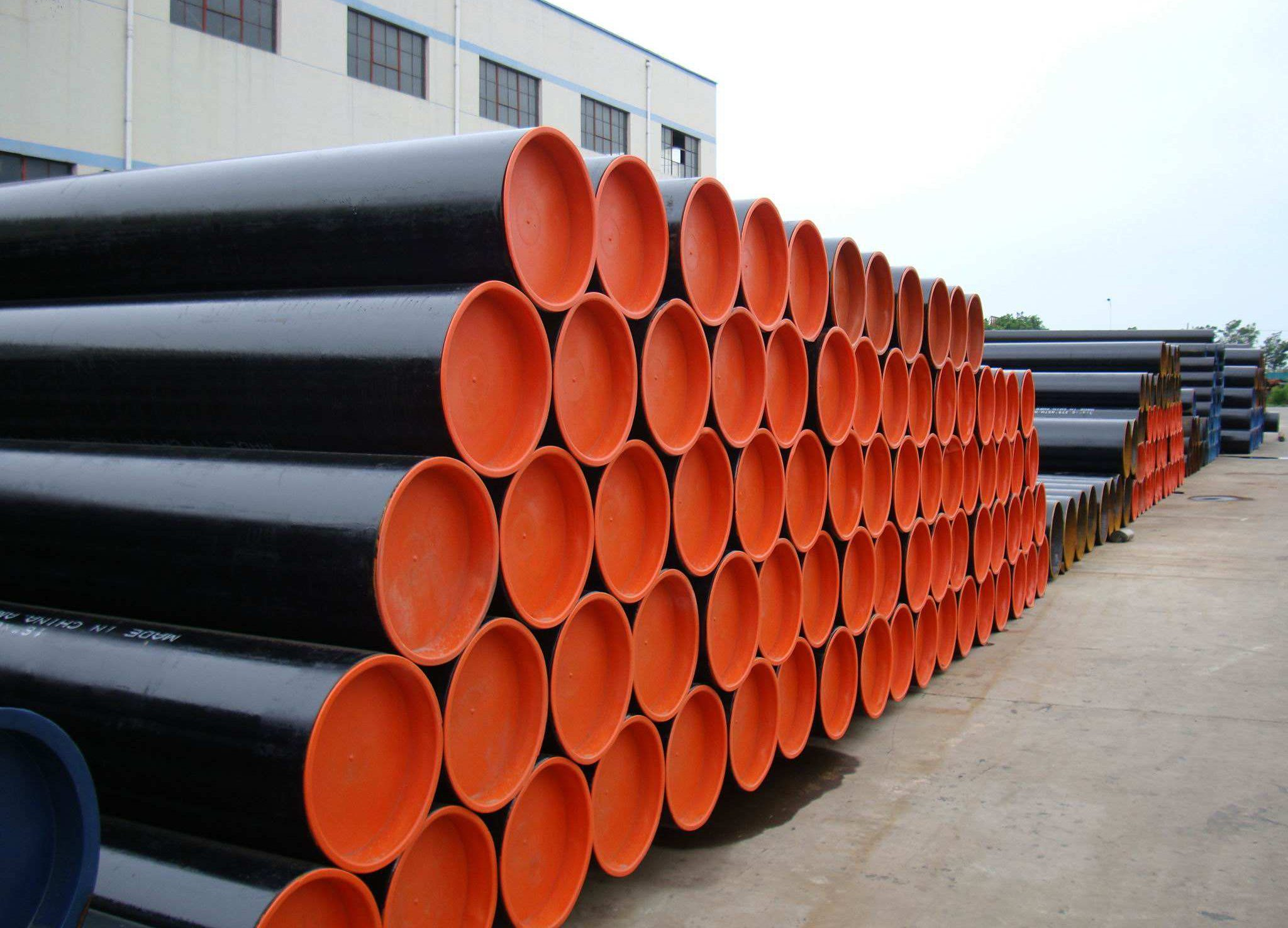High Performance  API 5L SMLS line pipe X42-X70 Supply to Algeria