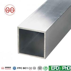 1 ″ x 1 ″ .120 Oglekļa tērauda kvadrātveida caurule