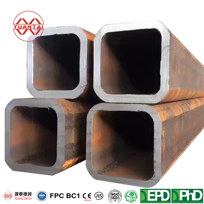 200x200 mild steel square hollow section pipe-1