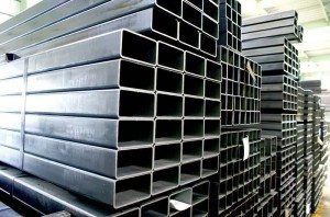 Wholesale price stable quality Hot galvanized square tube for Latvia Factory