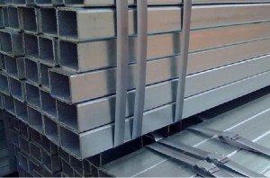 Hot galvanized square tube