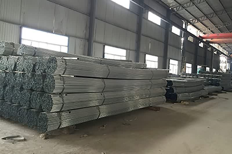New Delivery for Galvanized pipe Export to Macedonia