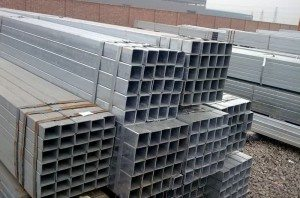 Hot galvanized square pipe