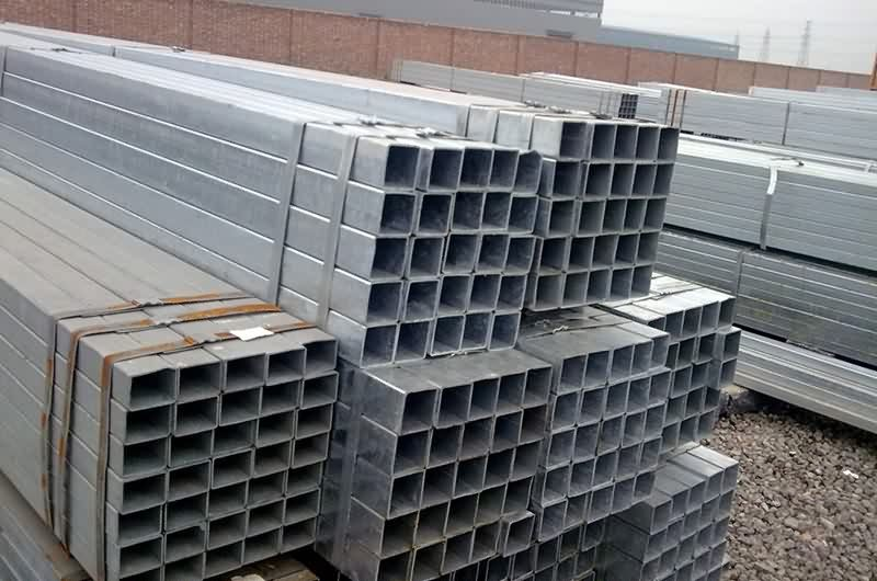 professional factory provide Hot galvanized square pipe for Jersey Manufacturer