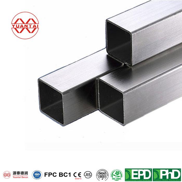 6-x-6-x-.250-Galvanized-Square-Tube