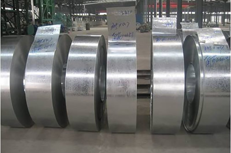 Quality Inspection for Strip steel to Nigeria Factory