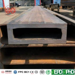 90 degree right angle square and rectangular steel tube