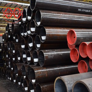 Seamless steel pipe for structure use tube api 5l x42