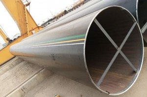 2017 Latest Design  Welded steel pipe Supply to Ecuador