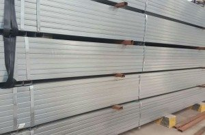 Hot galvaniz kvadrat tube