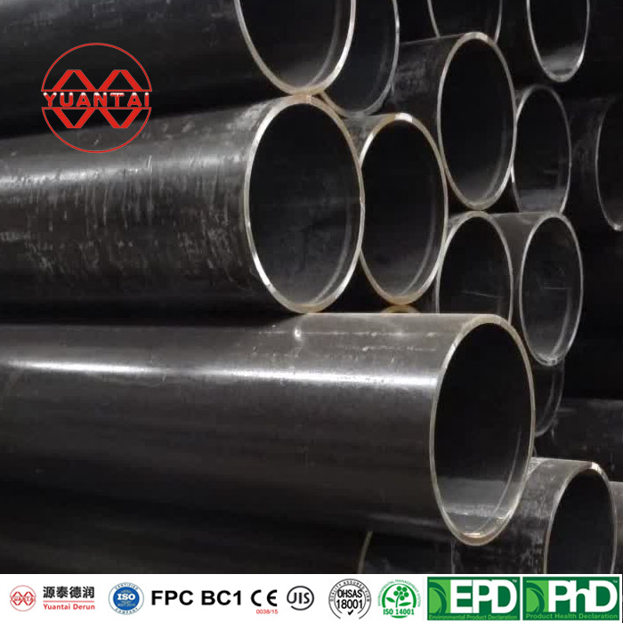 High corrosion protection hot rolled black carbon welded steel round pipe and tube manufacturer-18