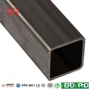 ASTM A36 hot rolled carbon steel square tube