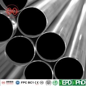 BS EN10219 Standard Seamless Stainless Steel Tubing