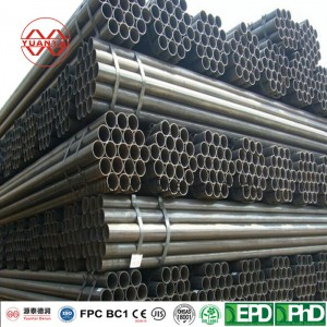 Black Welded Steel Pipes Chinese Factory