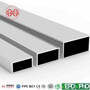 Pre Galvanized Thin Walled Square Rectangular pipe