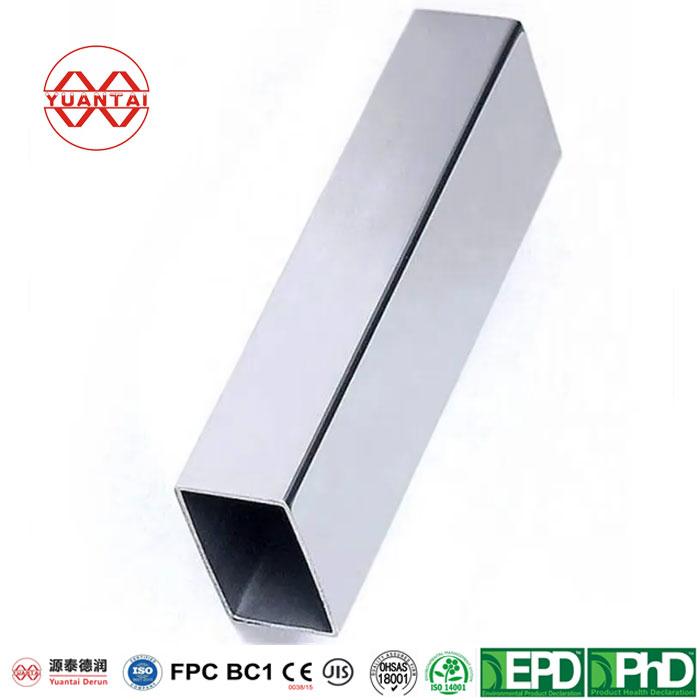 Light Zinc Coating 40-120g Pre Galvanized Square Steel Tube-3