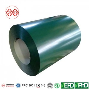 Color Coated Steel Coil RAL9002 White Prepainted Galvanized Steel Coil