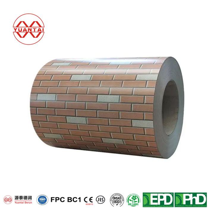 PPGI Galvanized Steel Coil YuantaiDerun-1