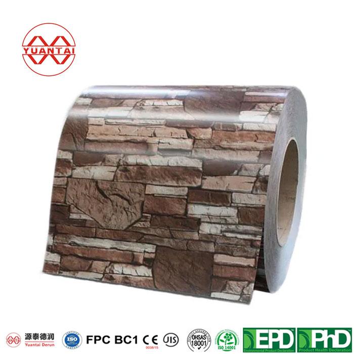 PPGI Galvanized Steel Coil YuantaiDerun-2