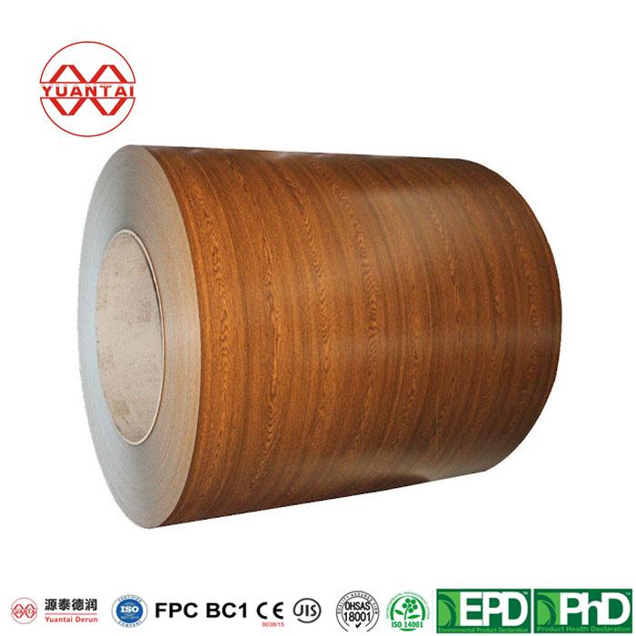 PPGI Galvanized Steel Coil YuantaiDerun-3