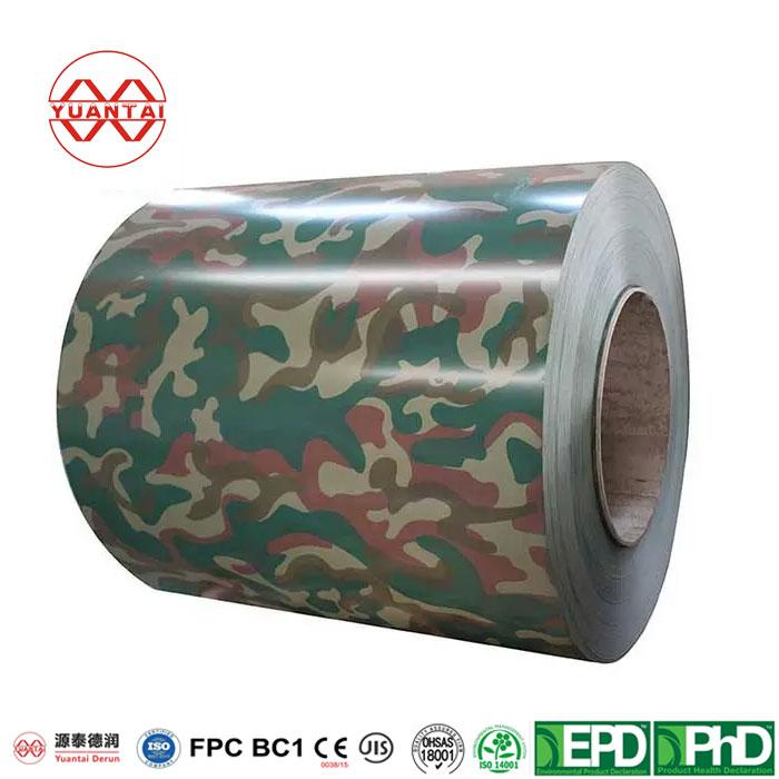 PPGI Galvanized Steel Coil YuantaiDerun-4