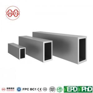 EN10210 EN10219 Taisnstūra caurule