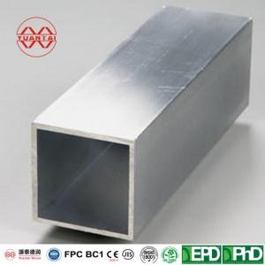 EN10210 EN10219 thick wall big dimensionrectangular and square steel tube – 90mm*90mm*2.0mm