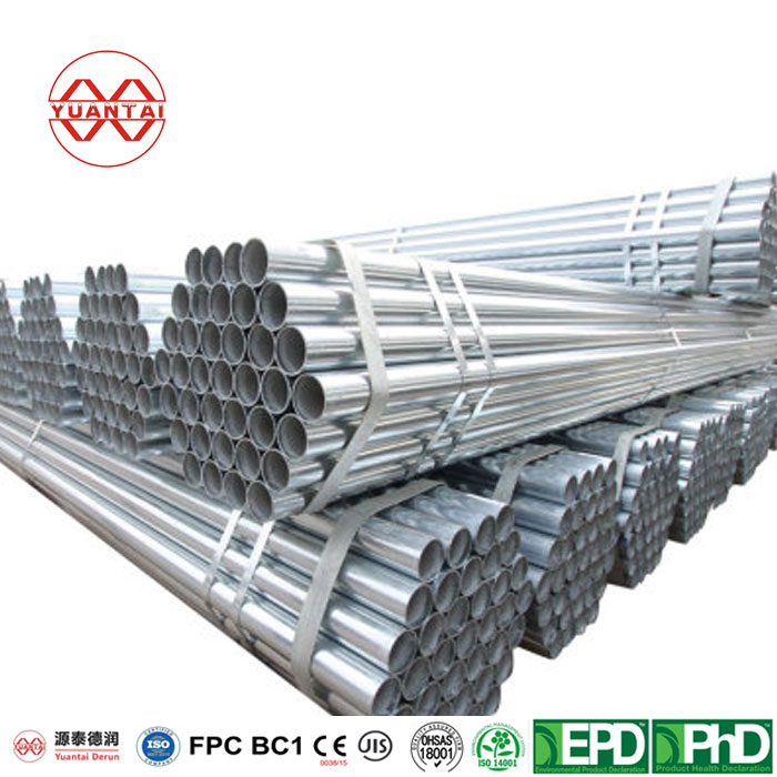 Famous Galvanized Steel Pipe 4 Inch Thin Wall Featured Image
