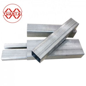 Galvanizing square pipe factory price made in China