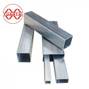 S355 S420 S460 galvanized square steel pipe and tube
