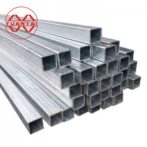galvanized hollow structural sections