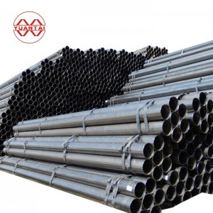 good quality round welded steel pipe for construction