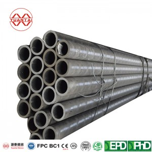 High corrosion protection hot rolled black carbon welded steel round pipe