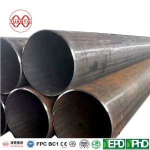 Hot Selling ASTM A53 A106 API 5L ERW Welded pipe
