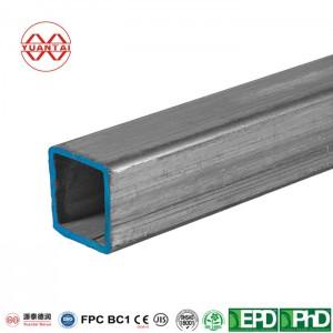 Hot dip galvanized square pipe for automobile manufacture