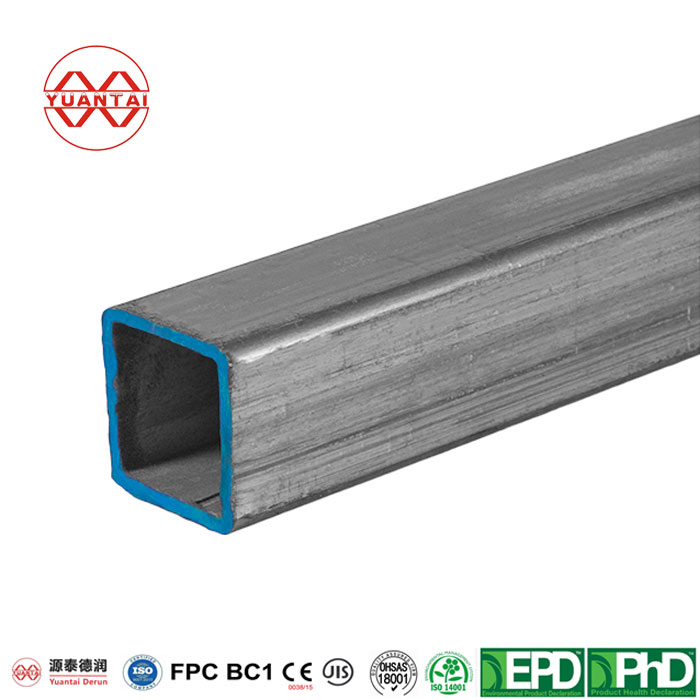 Hot dip galvanized square pipe for prefabricated steel construction-2