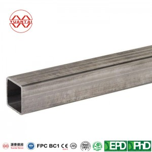 Hot dip galvanized steel pipe for high speed