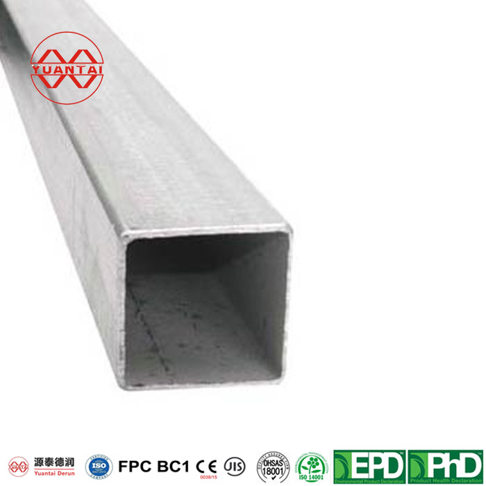 Hot dip galvanized square tube for shipbuilding Featured Image