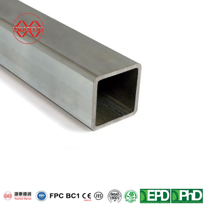 Hot-dip-galvanized-square-pipe-for-prefabricated-steel-construction-1
