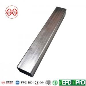 Hot dip galvanized square tube for briage