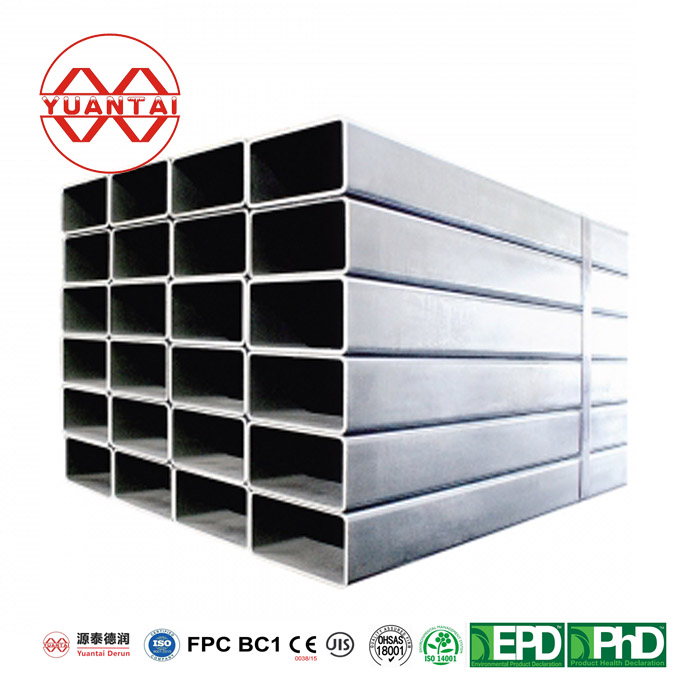 YuantaiDerun q235 black square steel pipe for construction-0-3