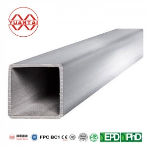 Astm A500 150×150 steel square pipe