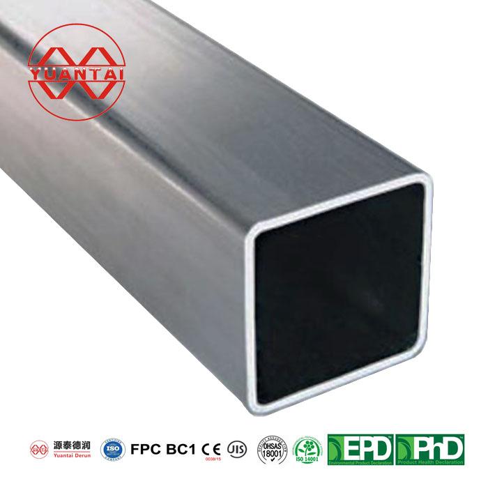 Hot galvanized square tube whole sale manufacturer-0-5
