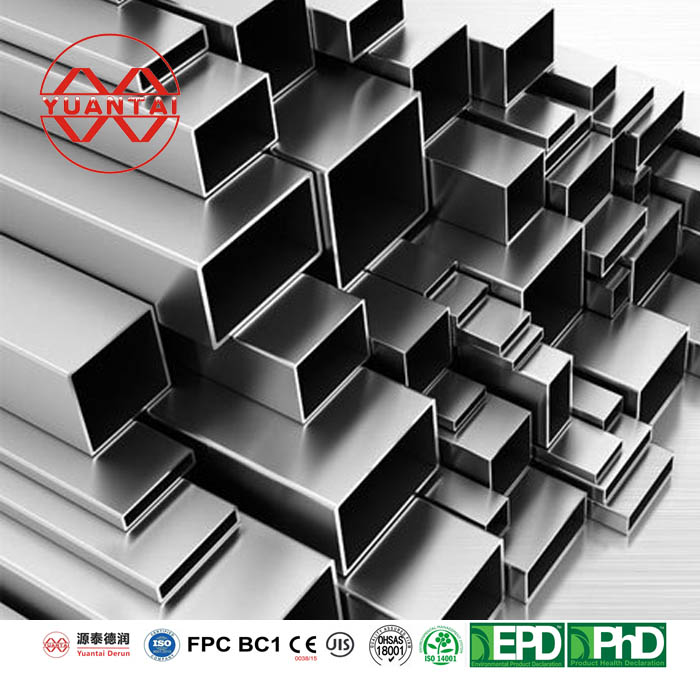 Astm a500 150x150 steel square pipe-6