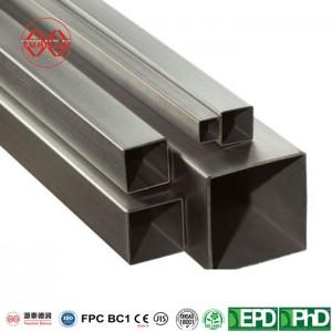 Melns MS-kvadrātveida cauruļu biezums – 3-6mm