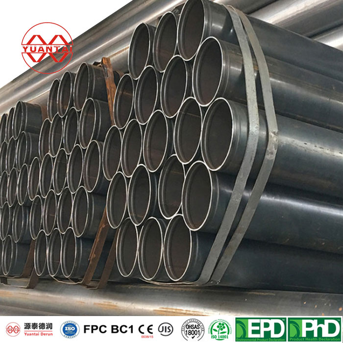 Black Iron Pipe Specifications with 1/2 inch to 10 inch and Thickness 0.8mm to 16mm-1