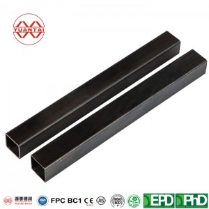 ODM black square hollow sections