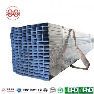 OEM Hot galvanized rectangular pipe