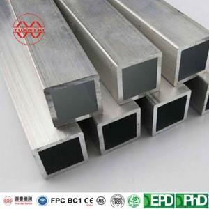 OEM Hot galvanized square tube